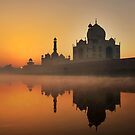 Taj Mahal at Sunrise by Heather Prince