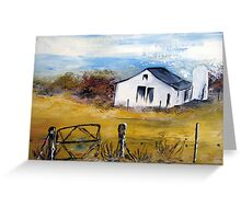 A farmhouse in the Karoo Greeting Card