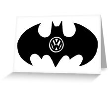 Bat Van Greeting Card