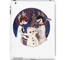 Build a Snowman! iPad Case/Skin