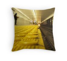The Wait Ends Throw Pillow