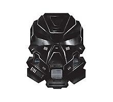 Black Metal Future Fighter Sci-fi Concept Art Photographic Print