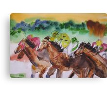 Picnic Races Canvas Print