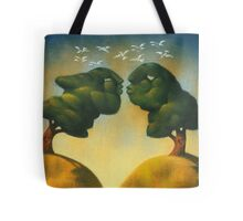 the kissing trees Tote Bag