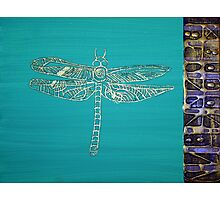 I am Dragonfly Photographic Print