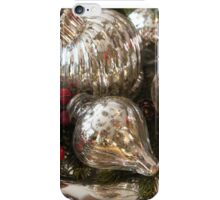 Silvery Baubles iPhone Case/Skin
