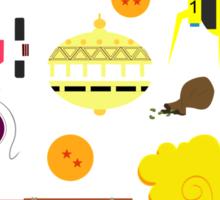 Dragon Ball  Stuff Sticker