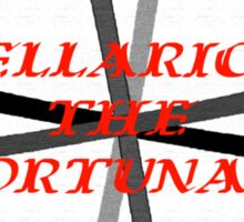 Bellarion the Fortunate, a motion picture from the mind behind Captain Blood and Scaramouche Sticker