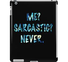 Sarcastic For Life!  iPad Case/Skin
