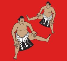 Sumo Wrestlers by artyrau