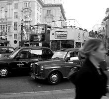 London life I by Anita Kovacevic