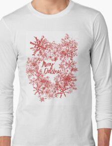 Christmas Snowflake  Long Sleeve T-Shirt
