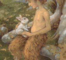 The White Hare Sticker