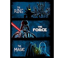 The Ring, The force, The magic Photographic Print