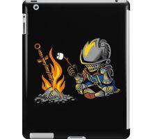 on an open bonfire iPad Case/Skin