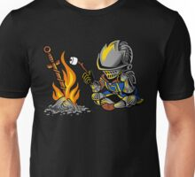 on an open bonfire Unisex T-Shirt