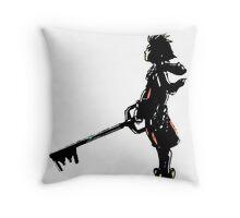 Kindom Hearts -Sora  Throw Pillow