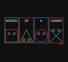 Moods of a gamer by eltronco