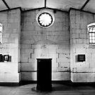 Pulpit. Chapel, Port Arthur. by Michael Douglass