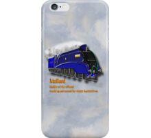 Mallard the Steam Locomotive iPhone Case/Skin