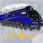 Mallard the Steam Locomotive - all products bar duvet by Dennis Melling