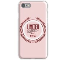 Limited Edition est.1956 iPhone Case/Skin