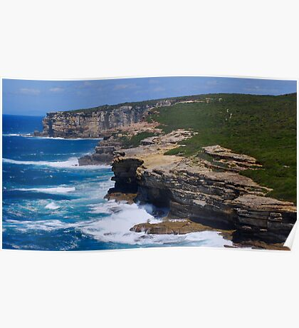 marley views, national park - sydney Poster