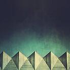 Urban Geometric Landscape Skyline by MattHollinshead