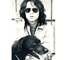 Jim Morrison Photographic Print