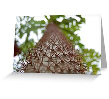 Path of thorns Greeting Card