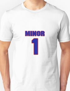 National baseball player Damon Minor jersey 1 T-Shirt