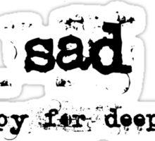sad Sticker