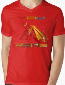 Gong - You Mens V-Neck T-Shirt