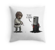 Black Knight - 'Tis but a scratch Throw Pillow