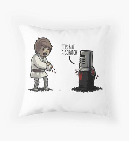 Black Knight - 'Tis but a scratch Throw Pillow