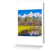 Teton Greeting Card