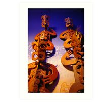 Maori Art Art Print