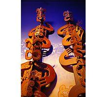 Maori Art Photographic Print