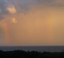 Rainbow Cloud by Jeffrey Hamilton