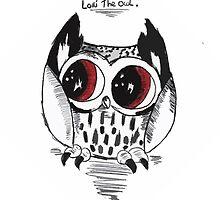 Loki the owl by AderynValentine