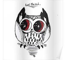 Loki the owl Poster
