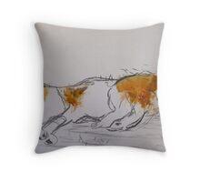 Lion Lying Throw Pillow