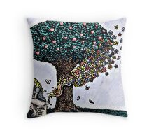 Compost Throw Pillow
