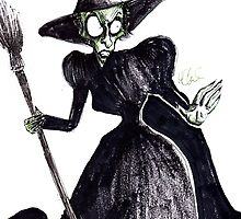The Wicked Witch of the West by missdaytripper