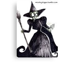 The Wicked Witch of the West Canvas Print