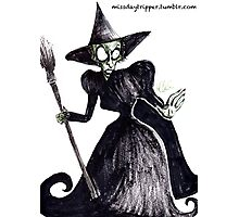 The Wicked Witch of the West Photographic Print