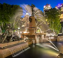 Archibald Fountain Hyde Park City Of Sydney by MiImages