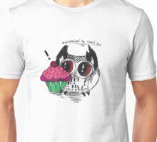 Loki - the overwhelmed by cake owl Unisex T-Shirt