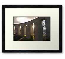 Sunrise at Stonehenge (Washington) Framed Print