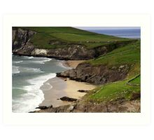 The sandy beach at Couminole Art Print